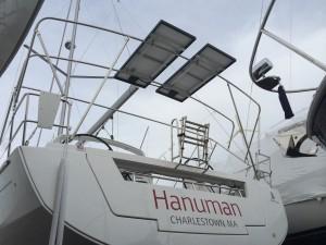Custom solar panal installation